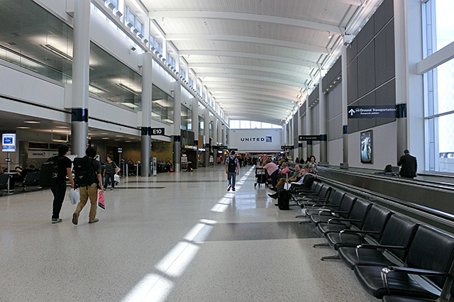 ヒューストンの空港