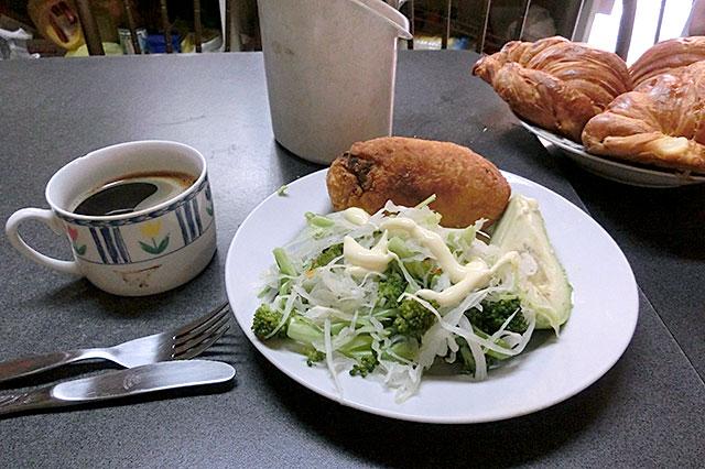 江田インの朝食