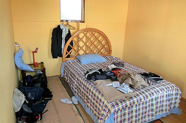 江田インのシングル部屋