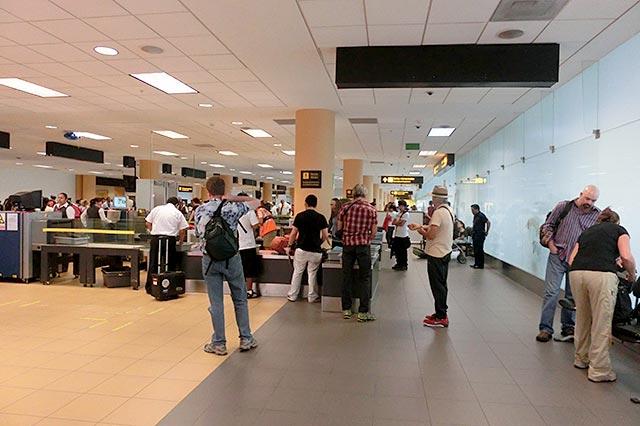 リマ空港のセキュリティチェック