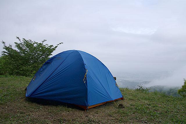筑波山テント泊