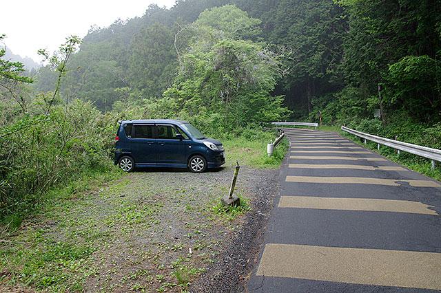 登山口駐車スペース
