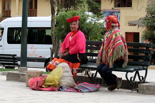 鮮やかな民族衣装