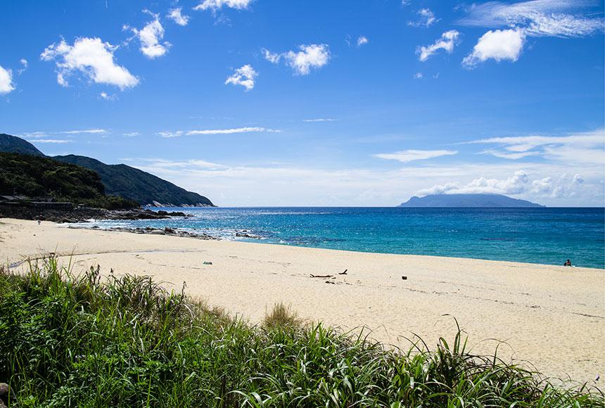 屋久島 田舎浜